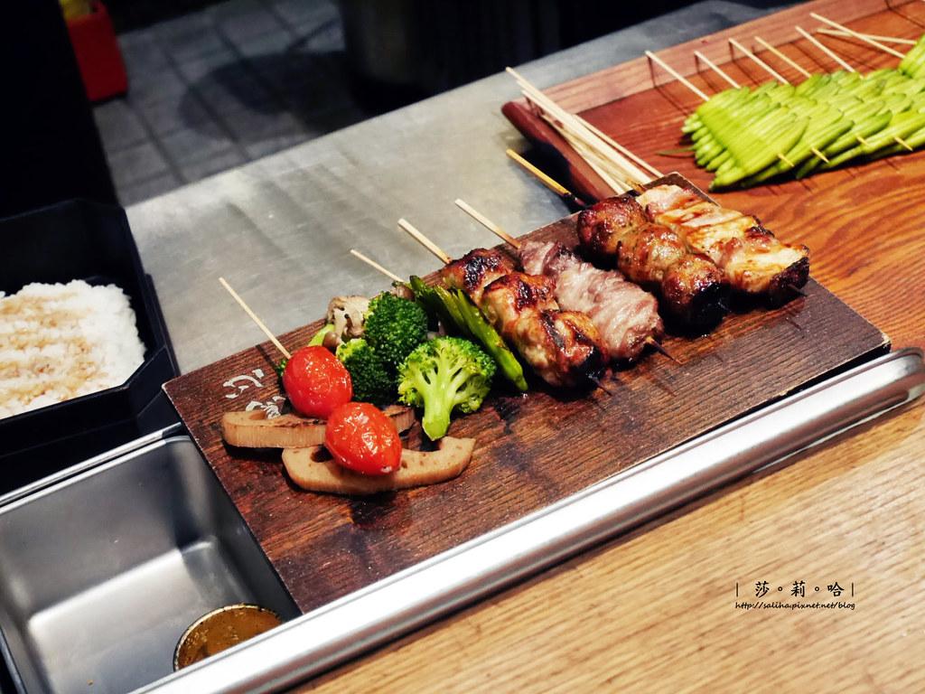 台北日本料理餐廳推薦東京田町鳥心 居酒屋和牛串燒好吃定食 (6)