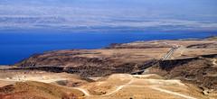 Road to Dead Sea & Jordan Valley.