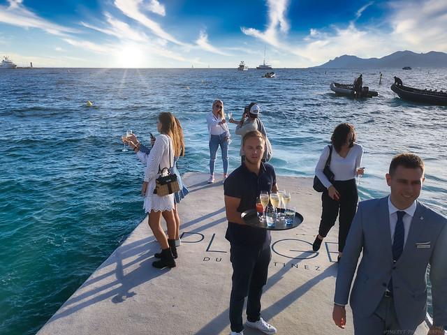 Ponton de l'hôtel le Martinez à Cannes -IMG_20191005_175531