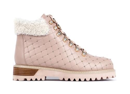 ботинки кожаные женские зимние