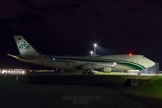 Kingdom Aircraft II LLC Boeing 747-400 HZ-WBT7
