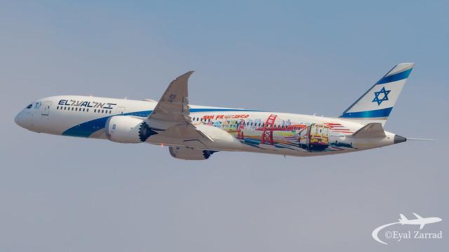 TLV - El Al Boeing 787-9 4X-EDD