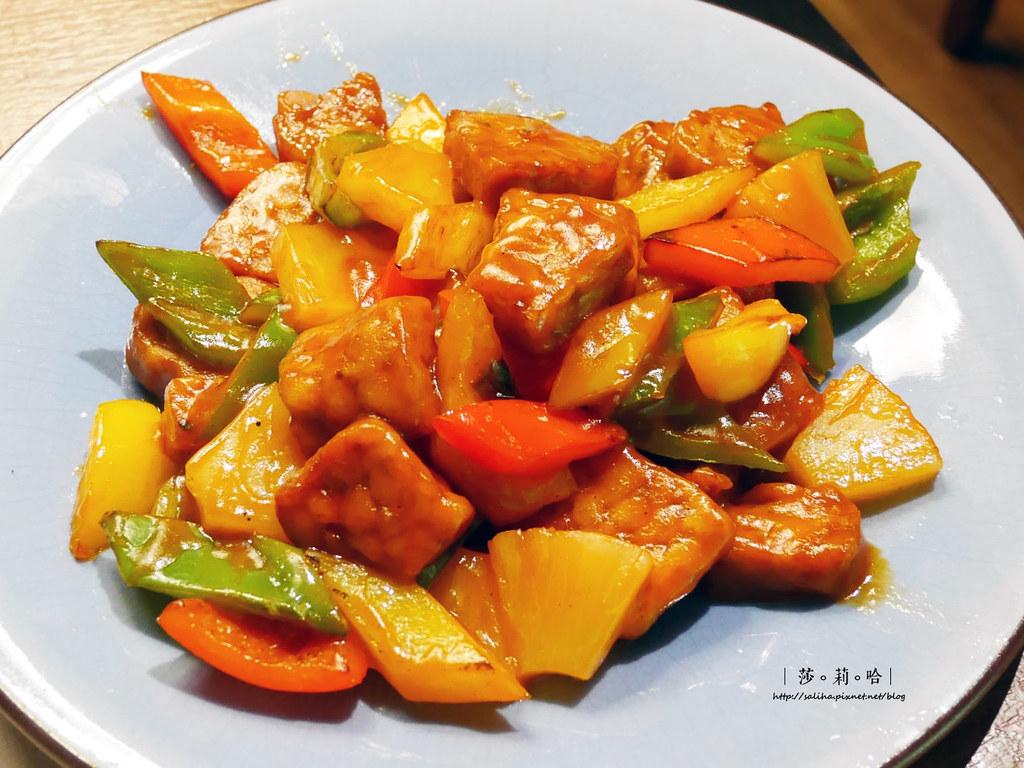 台北中山區松江南京站素食餐廳禪風茶樓好吃全素蔬食料理餐點推薦 (1)