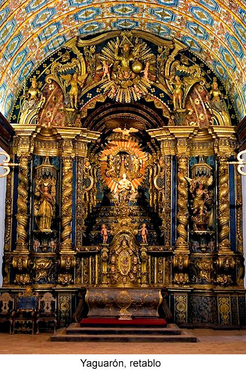 Yaguarón, Paraguay, retablo