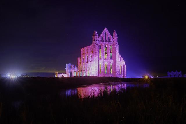 Whitby Abbey Illuminated