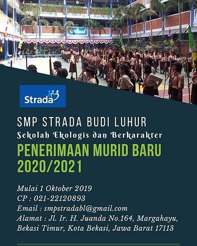 Penerimaan Siswa Baru SMP Strada Budi Luhur Tahun Pelajaran 2020/2021