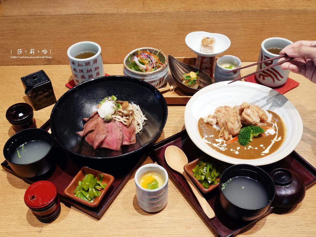 台北中山站日本料理餐廳推薦東京田町鳥心評價食記午餐定食