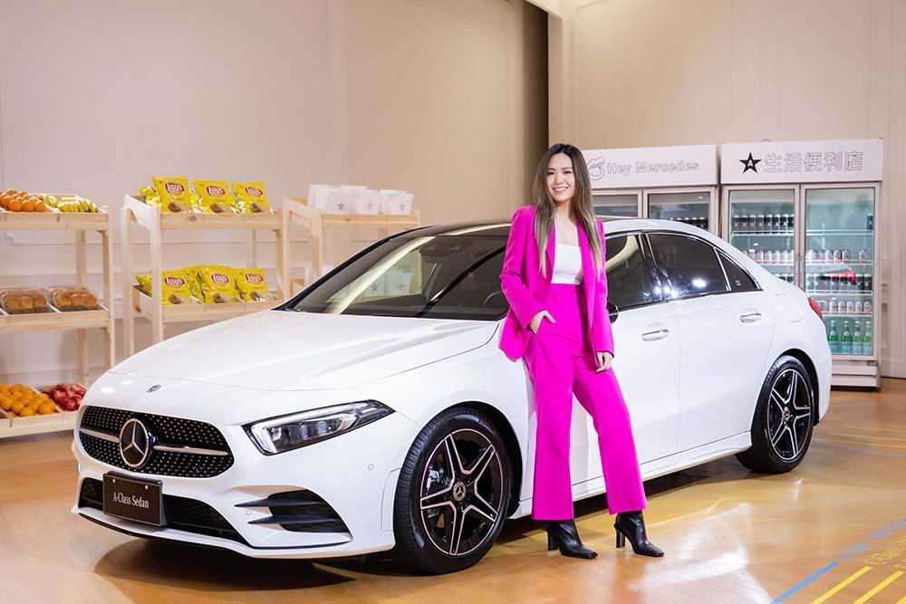 Mercedes-Benz 豪華轎車家族的最新成員-The new A-Class Sedan 新世代轎車