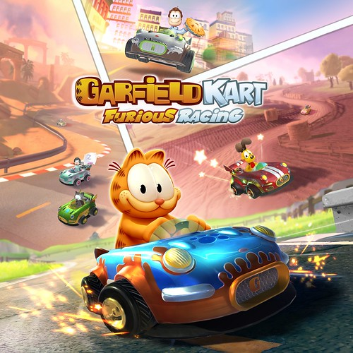 Thumbnail of Garfield Kart - Furious Racing on PS4