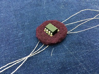 felted socket with IC