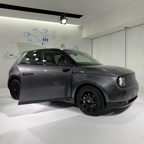 Tokyo Motor Show 2019 Honda e