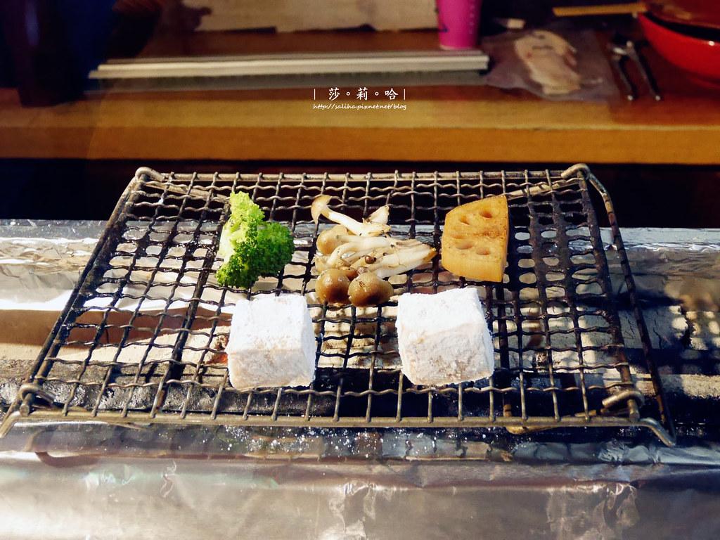 台北中山站職人日本料理餐廳推薦東京田町鳥心串燒定食小酌 (2)