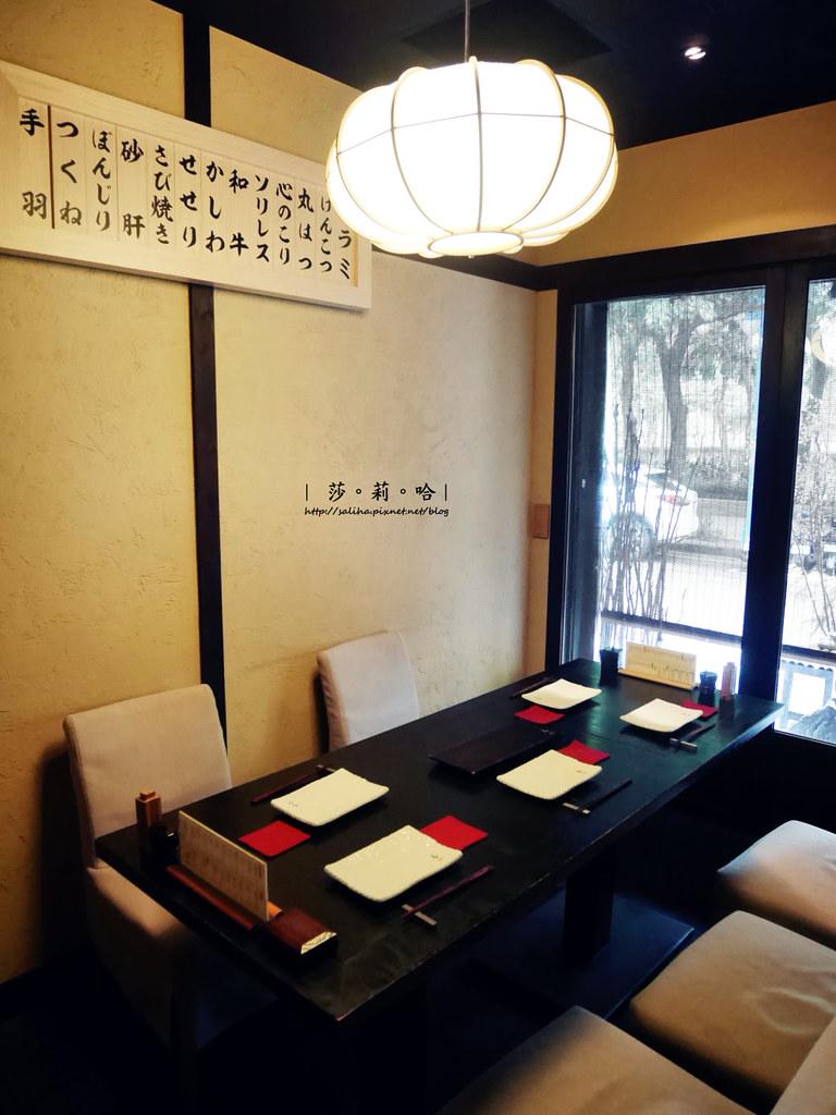 台北中山站日本料理餐廳推薦東京田町鳥心小酌串燒好吃定食套餐 (1)