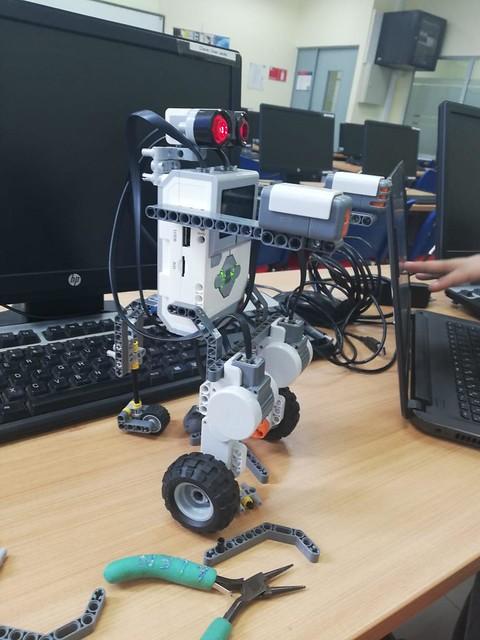 3er lugar Competencia Lego Robotics en Curicó