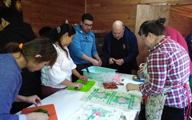 Kinder B colabora en Comedor Solidario