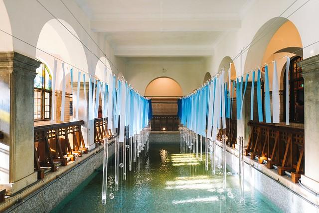 古代的浴場~