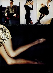 Vogue editorial shot by Elisabeth Novick 1987