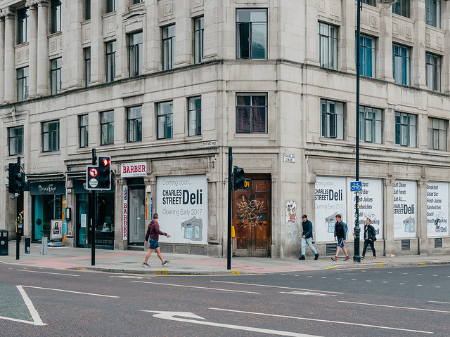 Oxford Road and Charles Street, Manchester