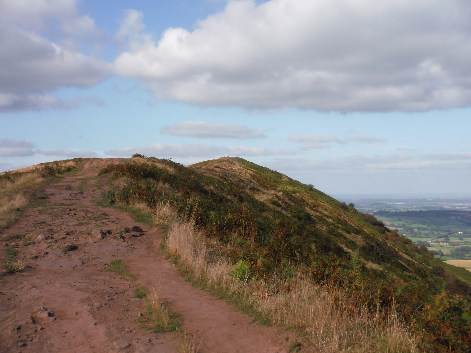 The ridge of The Skirrid SWC Walk 347 - Llanvihangel Crucorney Circular (via Bryn Arw and The Skirrid)