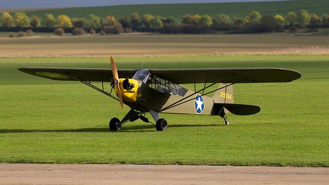 Private Piper J3 Cub G-BROR