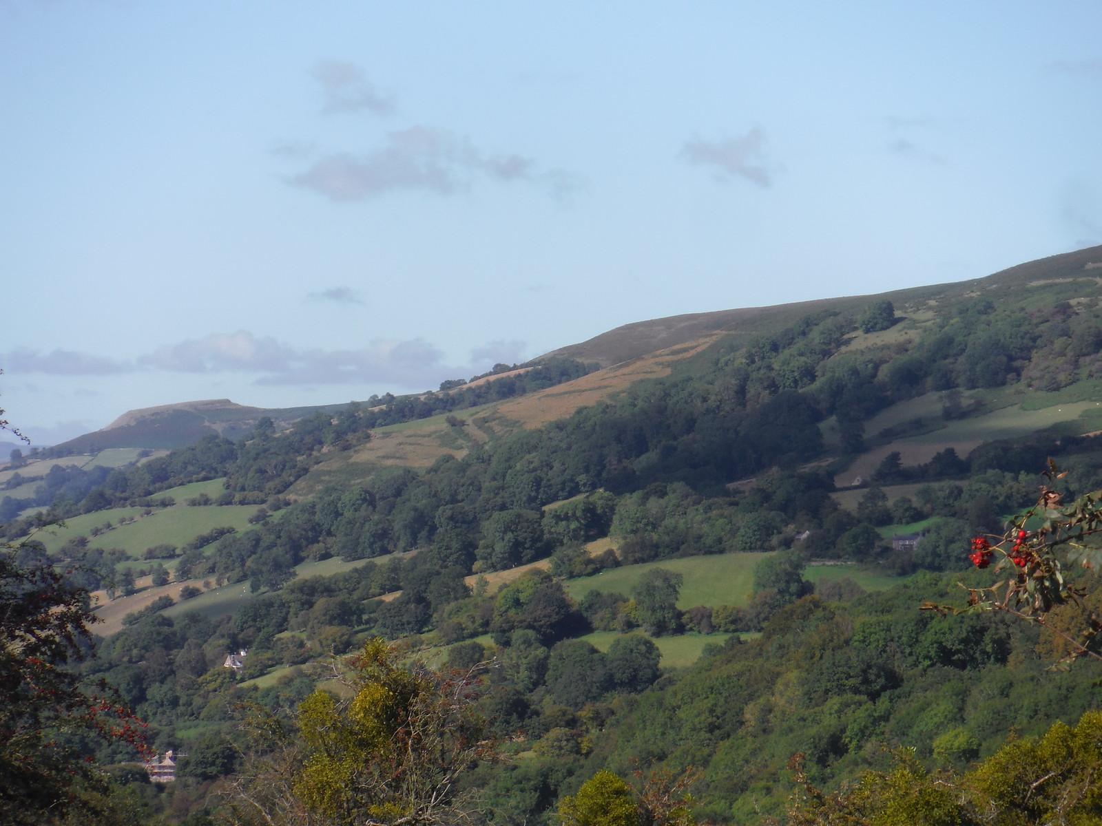 View towards Crug Hywel, from Bryn Arw SWC Walk 347 - Llanvihangel Crucorney Circular (via Bryn Arw and The Skirrid)