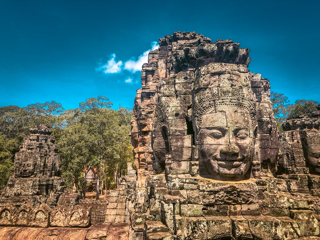 Bayon Temple | One Day in Siem Reap