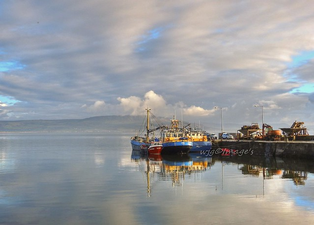 Carrickarory pier, Moville, Co. Donegal.