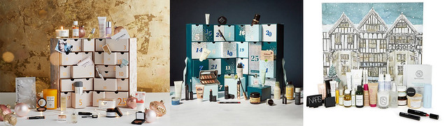 Department Store Beauty Advent Calendars 2019