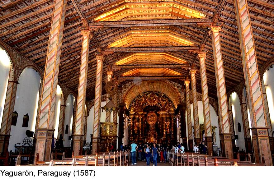 Iglesia de Yaguarón, Paraguay