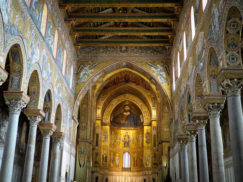Interior Duomo de Monreale