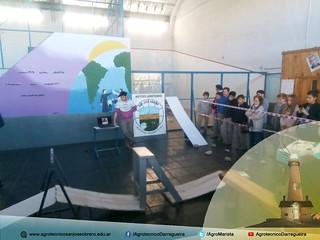 Circuito de obstáculos donde se presentó el Robot MakeBlock