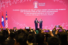 35th ASEAN Summit_Closing Ceremony of the 35th ASEAN Summit and Related Summits and Handing Over of the ASEAN Chairmanship to The Socialist Republic of Viet Nam
