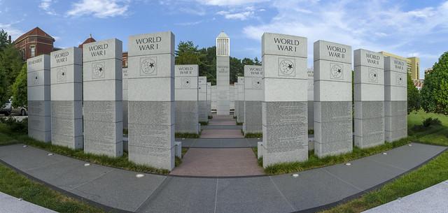 East Tennessee Veteran's Memorial, World's Fair Park, Knoxville, TN