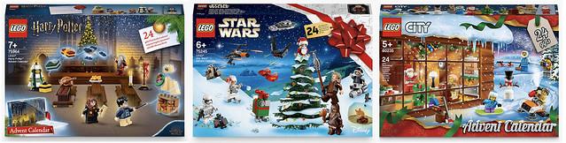 Lego Advent Calendars 2019
