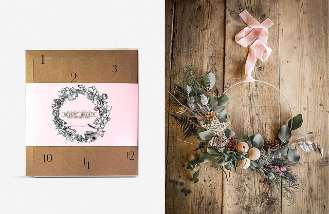 Christmas Wreath Advent Calendar 2019