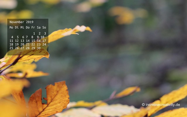 Wallpaperliebe November 2019