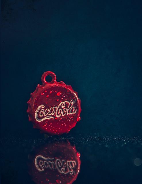 Coca Cola mini charm