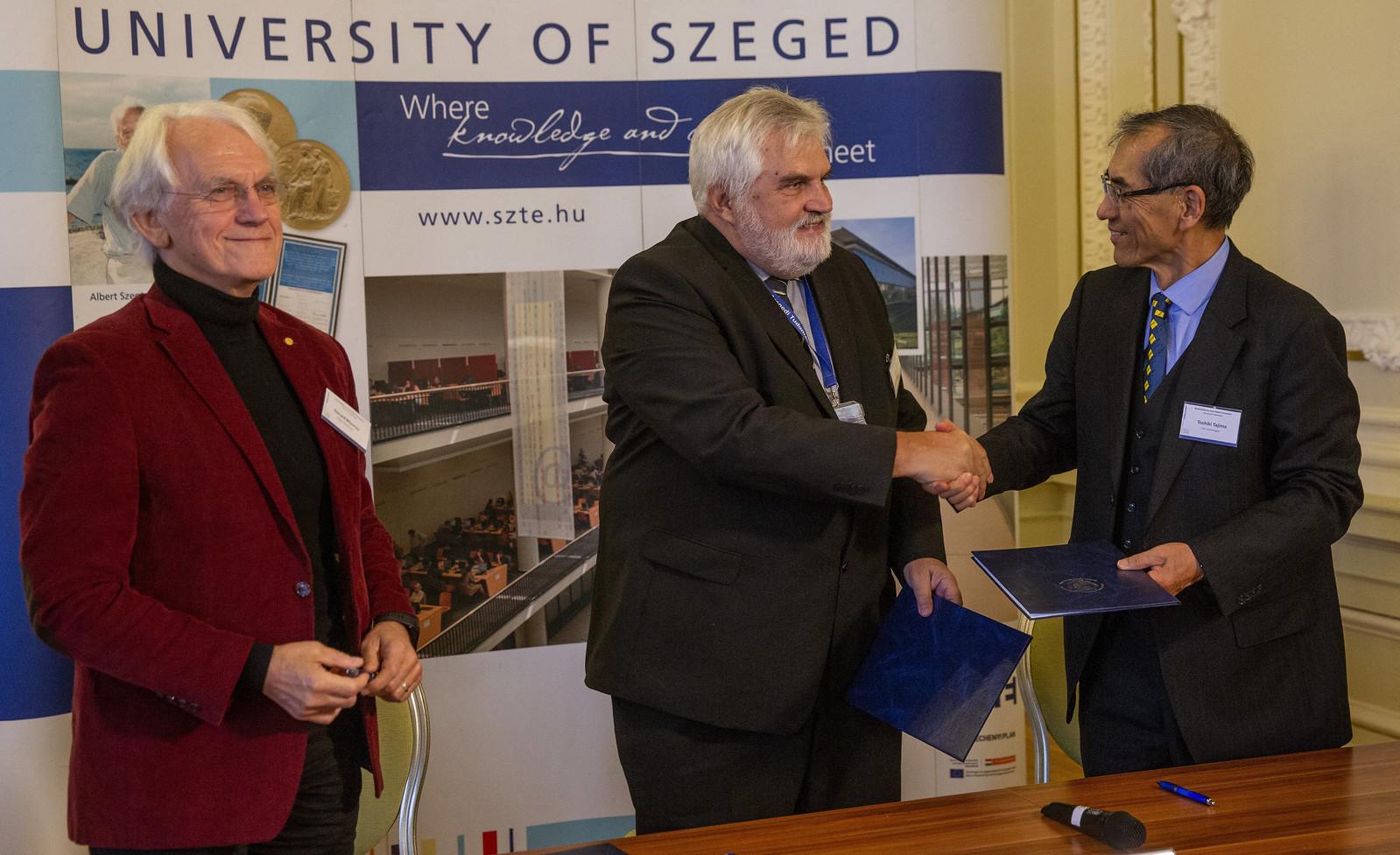 Szabó Gábort nevezték ki a szegedi lézeres kutatóközpont élére