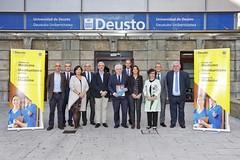 31/10/2019 - El grado de Medicina de la Universidad de Deusto recibe el informe favorable de Unibasq