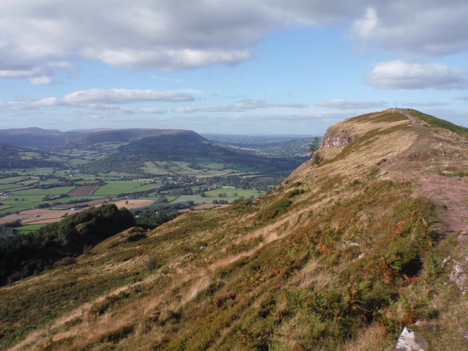The ridge of The Skirrid and Hatterrall Hill SWC Walk 347 - Llanvihangel Crucorney Circular (via Bryn Arw and The Skirrid)