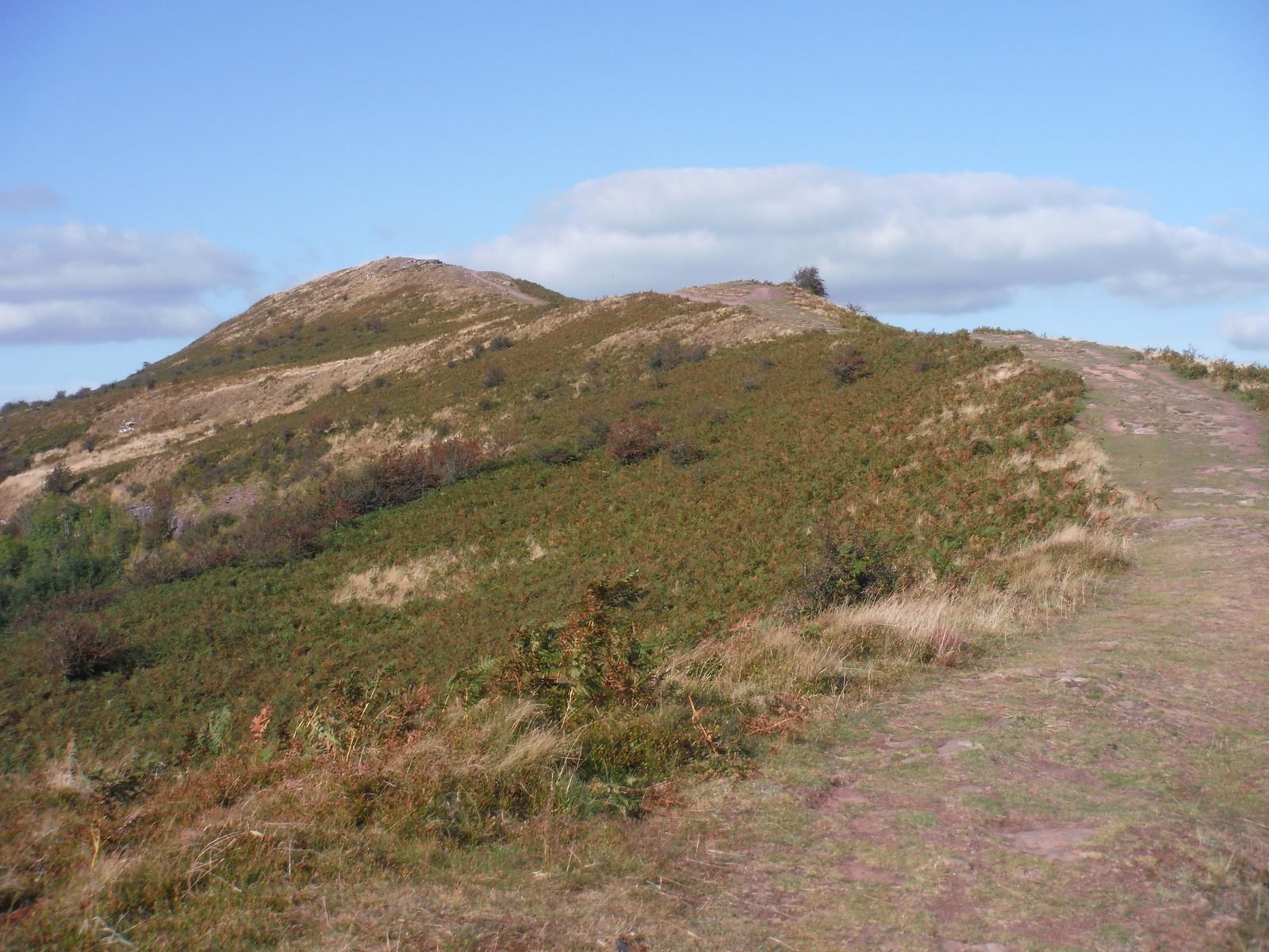 Start of route up the ridge of The Skirrid SWC Walk 347 - Llanvihangel Crucorney Circular (via Bryn Arw and The Skirrid)