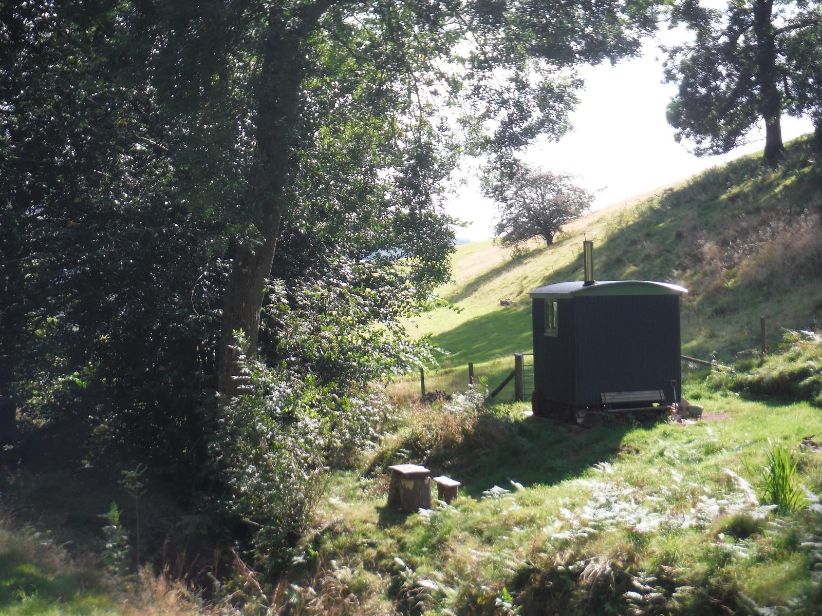 Shepherd's Hut, Cwmbrynarw SWC Walk 347 - Llanvihangel Crucorney Circular (via Bryn Arw and The Skirrid)