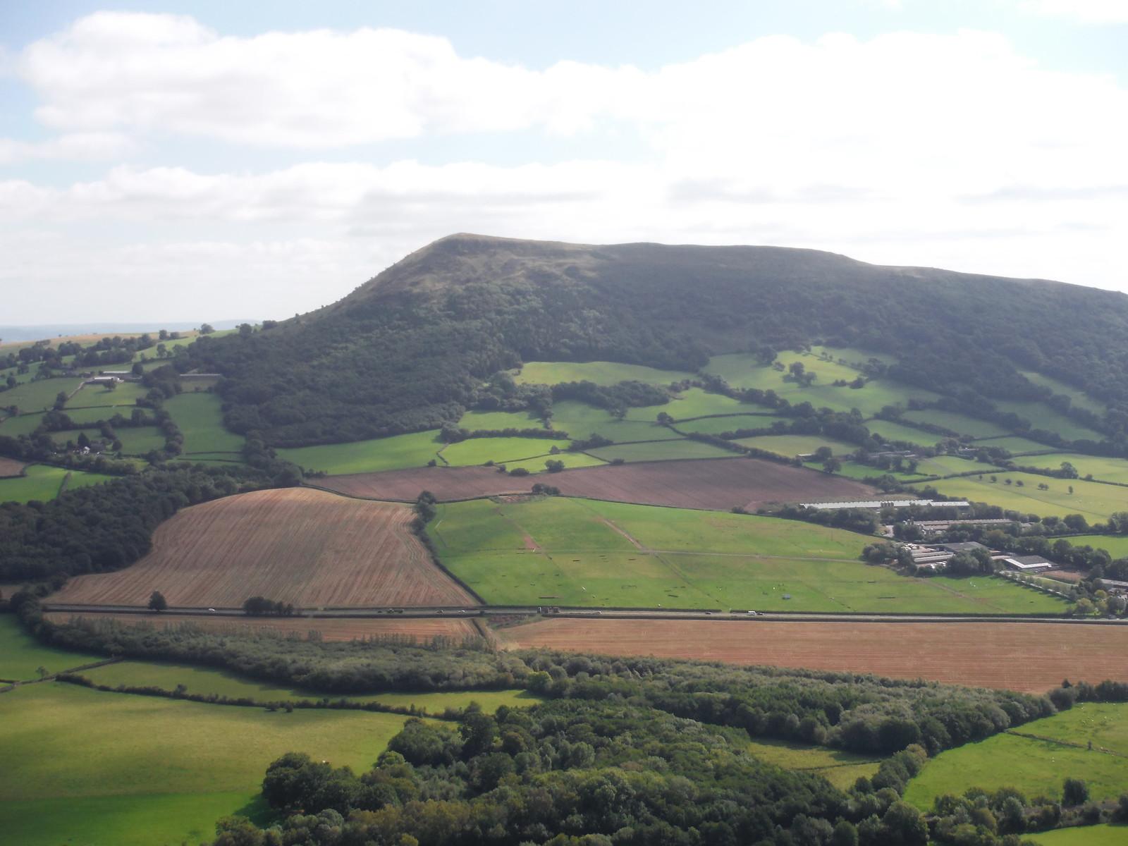 The Skirrid across the Gavenny Valley, from Bryn Arw SWC Walk 347 - Llanvihangel Crucorney Circular (via Bryn Arw and The Skirrid)