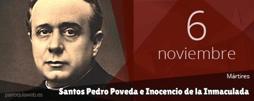 Santos Pedro Poveda e Inocencio de la Inmaculada