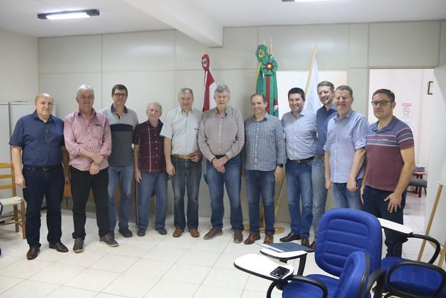01/11/2019 Reunião Sindilojas Tapejara