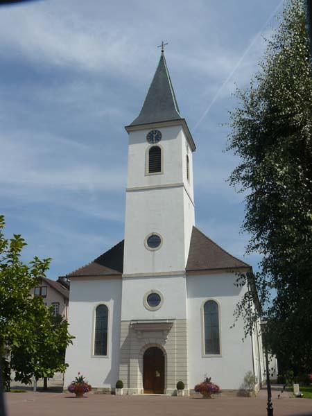 eglise St Rémi hégenheim