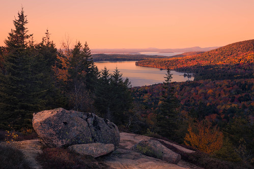 acadianationalpark autumn southbubble acadia maine fall nature