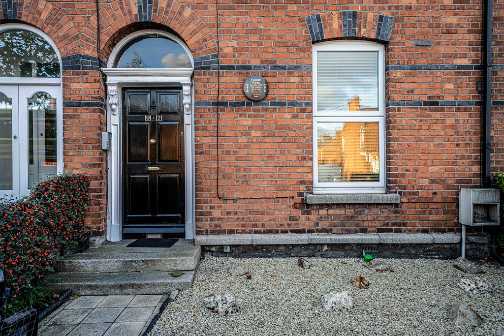 FRANK DUFF WAS BORN HERE ON PHIBSBORO ROAD [FOUNDER OF THE LEGION OF MARY]-157960