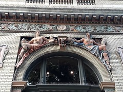 Ornaments Above the S-SW Entrance of the Former Olof Palme House - The Beautiful Hungarian Art Nouveau Nr 8