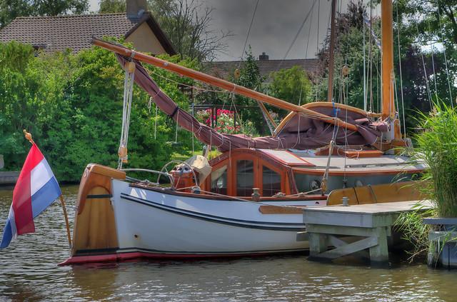 Heck Segelboot